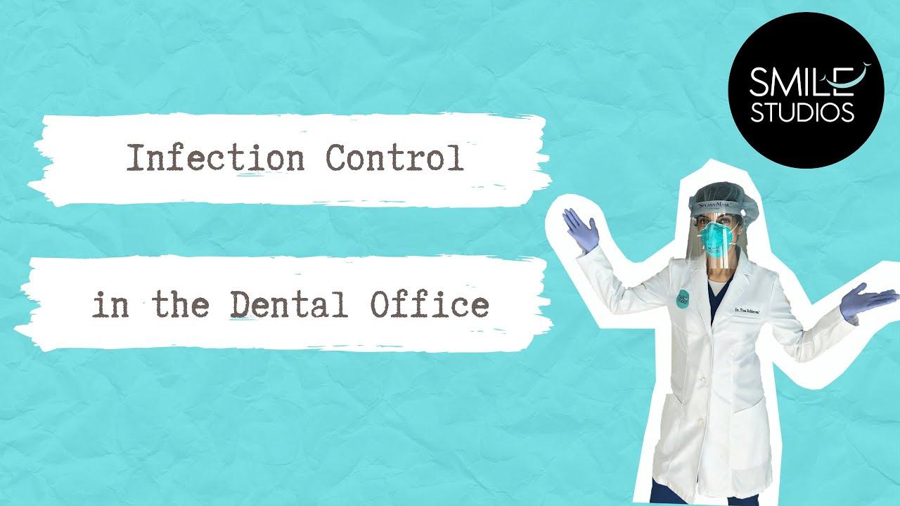 Dr. Tina explain infection control at the dental