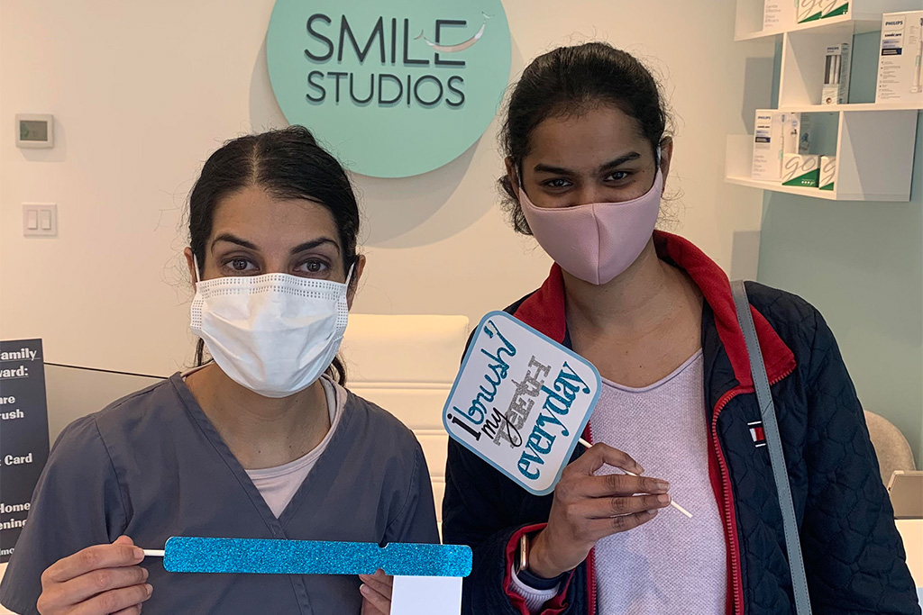 Happy dental patients of Dr. Tina Subherwal at Smiles Studios Redmond, WA area - Gallery image 14