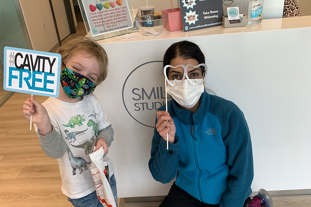 Happy dental patients of Dr. Tina Subherwal at Smiles Studios Redmond, WA area - Gallery image 18