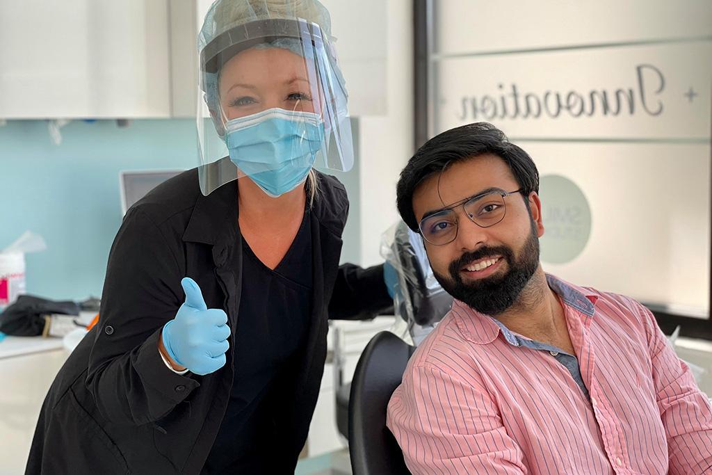 Happy dental patients of Dr. Tina Subherwal at Smiles Studios Redmond, WA area - Gallery image 20